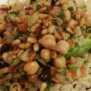 Middle Eastern Balela Salad. California Style.