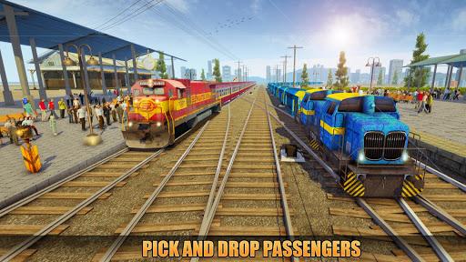 Indian Train Racing Simulator Pro: Train game 2019 image | 9