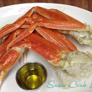 Snow Crab Legs.