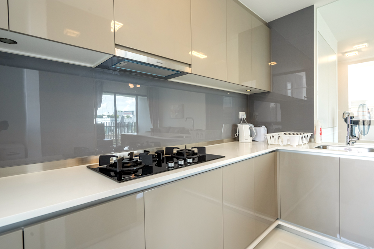 Kitchen at Clementi apartment