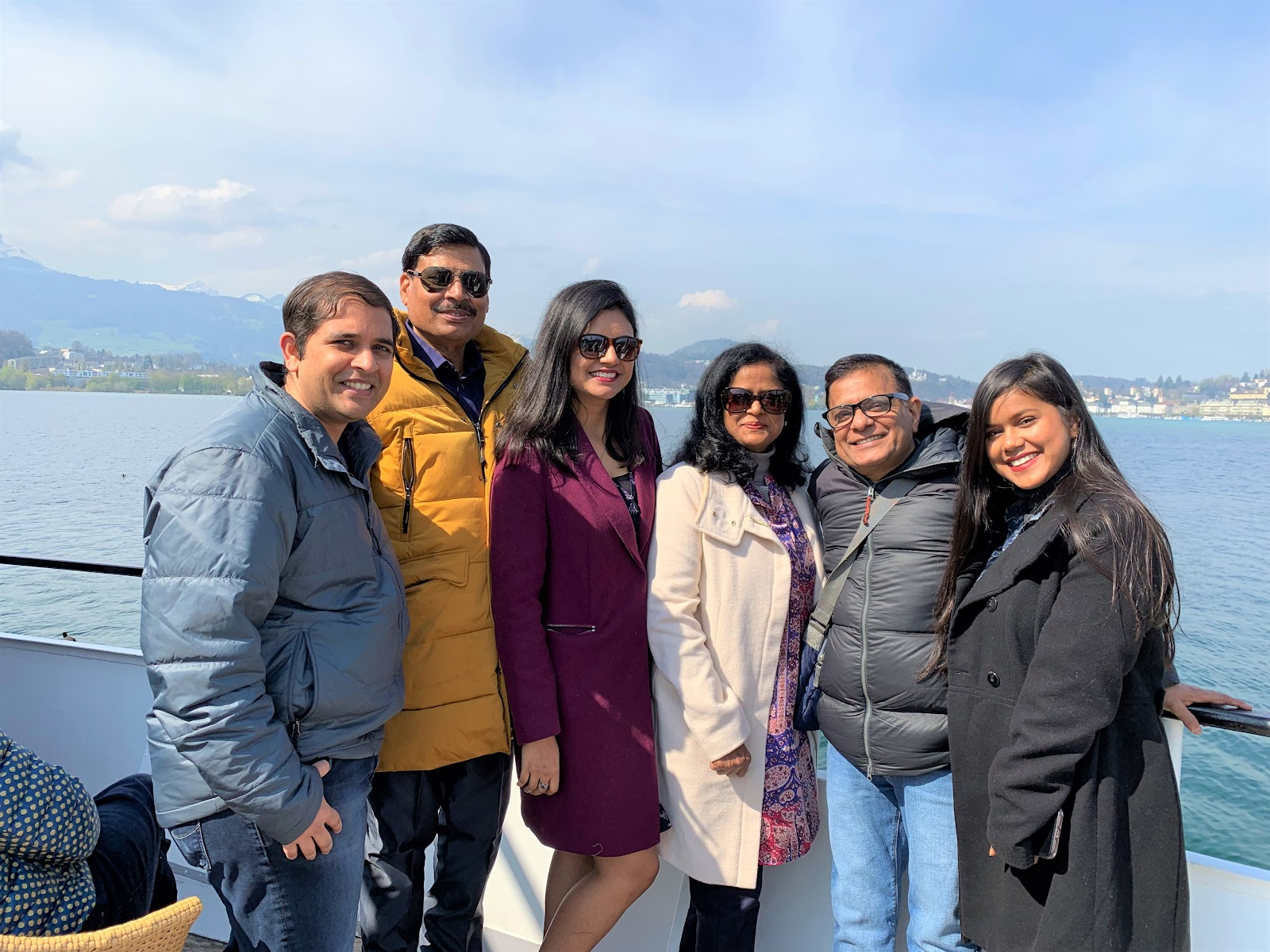 Ferry on Lake Lucerne - How to visit Mt. Rigi
