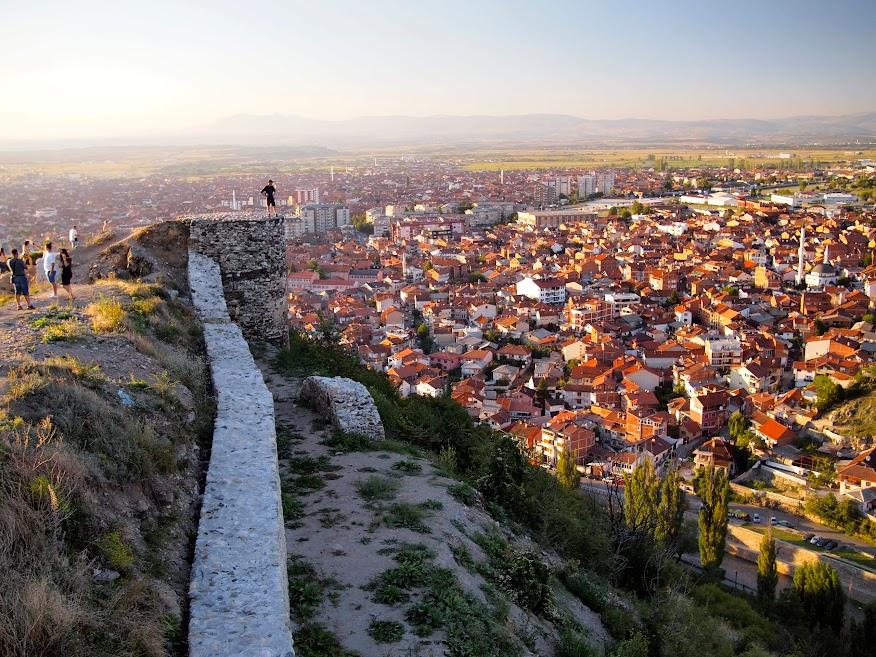 Sunset in Prizren, Kosovo