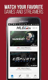 MLG.tv- screenshot thumbnail