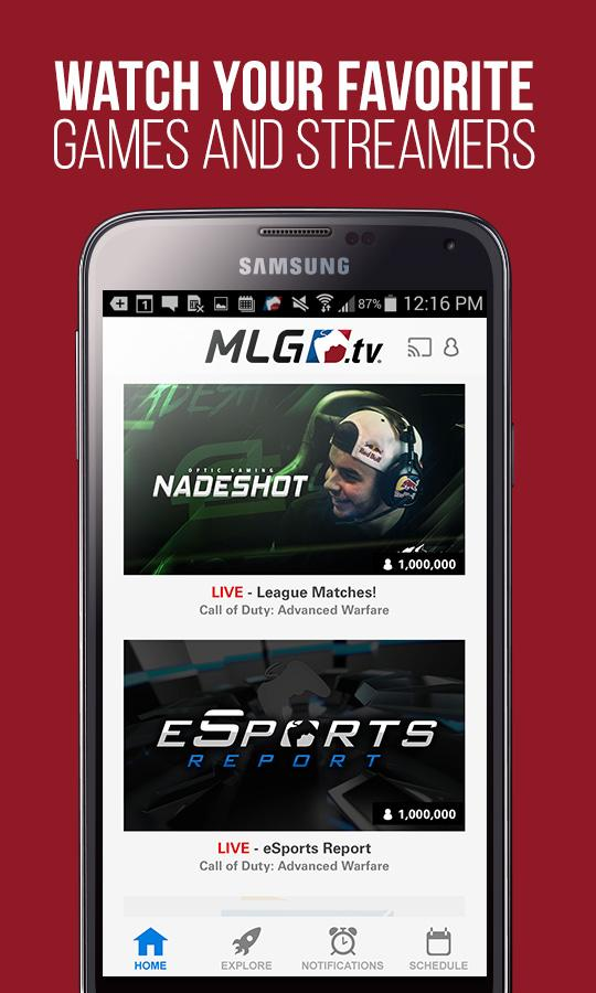 MLG.tv - screenshot