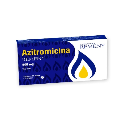 azitromicina 500mg 3tabletas remeny