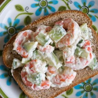 Shrimp and Cucumber Salad.