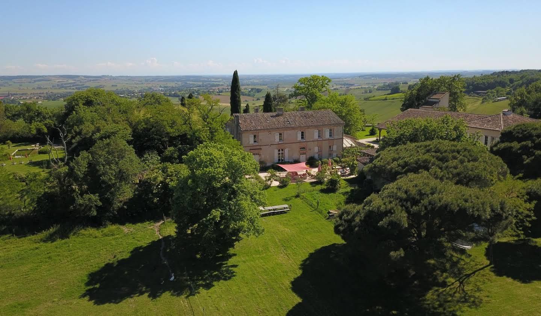 Propriété avec piscine Beaumont-de-Lomagne