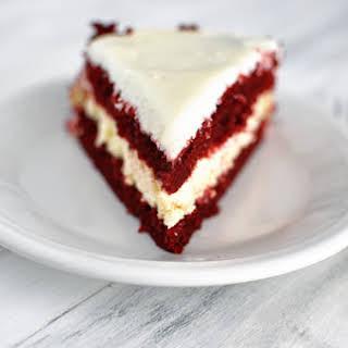Red Velvet Cheesecake Cake.