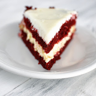 Red Velvet Cheesecake Cake.