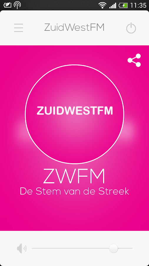 ZWFM- screenshot