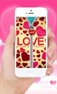 Download Love Lock Screen Zipper For PC Windows and Mac apk screenshot 2