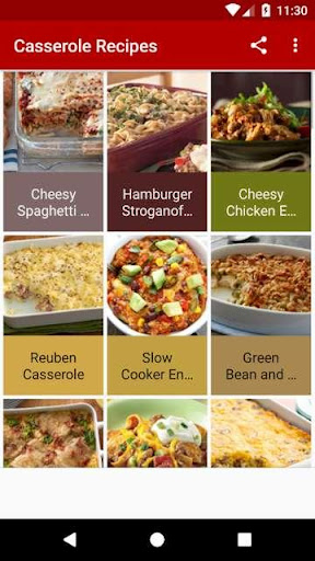 Casserole Recipes 1.0 screenshots 1
