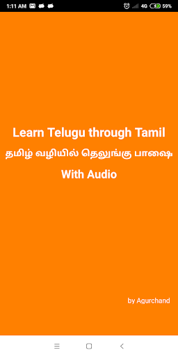 Download Learn Telugu through Tamil on PC & Mac with AppKiwi