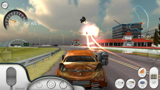 Armored Car HD (Racing Game) Screenshot