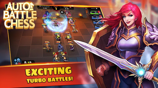 Auto Battle Chess: Royale War. Magic Heroes Arena 1.0.15 screenshots 1