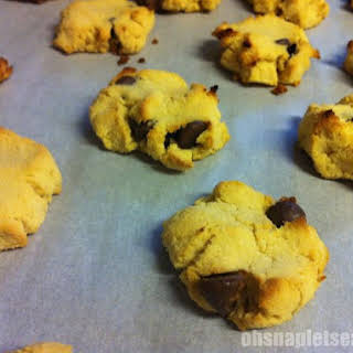 Gluten-free Paleo Chocolate Chip Cookies.