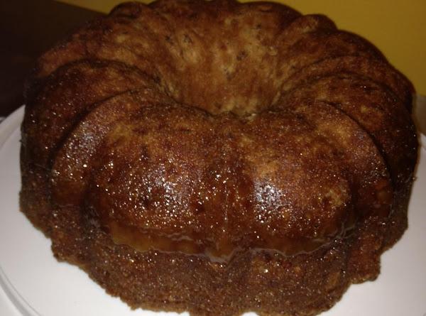 Apple Dapple Cake (with Caramel Sauce) Recipe