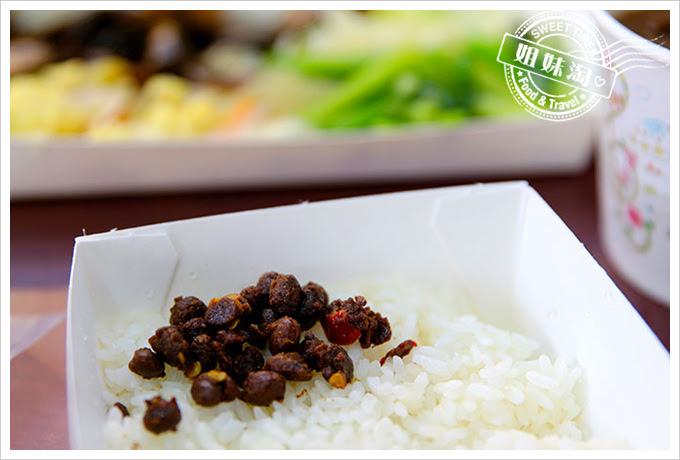 桌上賓中式快餐豆鼓