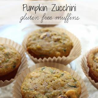 Pumpkin Zucchini Muffins {Gluten-Free}.