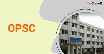 OPSC 2020 - Odisha Public Service Commission Exam
