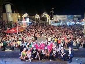 Photo: Banda Função Públika, uma das que animou a festa