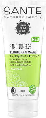 5in1 Clay Cleanser & Mask eko grapefruit & evermat