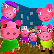 Piggy Neighbor. Family Escape Obby House 3D MOD APK 1.9 (All Levels Unlocked)