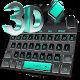 Tema de teclado preto 3D para PC Windows