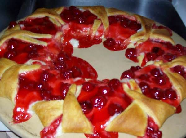 My Delicious Cherry Ring! A Family Favorite! I Have Used This Tried And True Dessert For Reunions, Church Gatherings, And Work Functions!