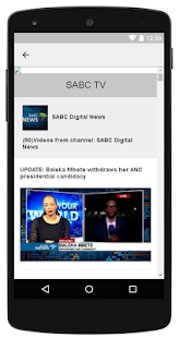SABC TV To Watch On Mobile - náhled