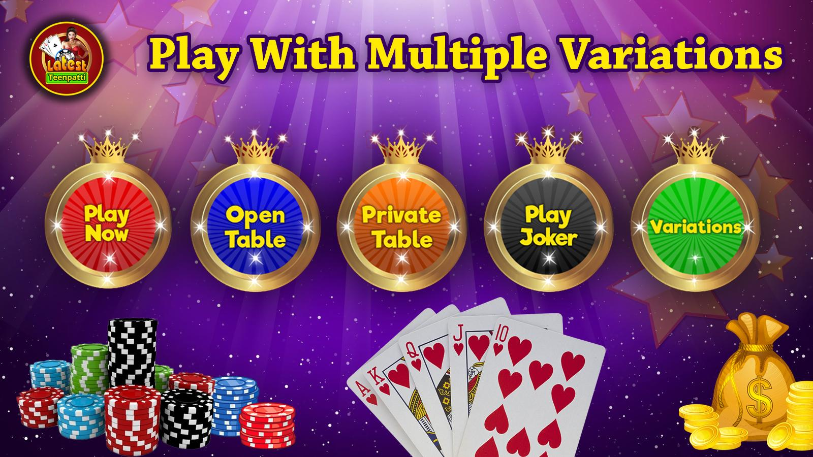 Latest Teen Patti - Indian Poker Game- screenshot
