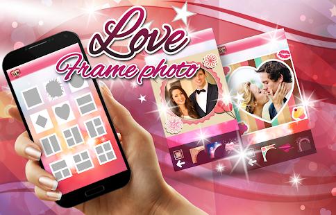 Láska Rámečky Fotokoláž - náhled