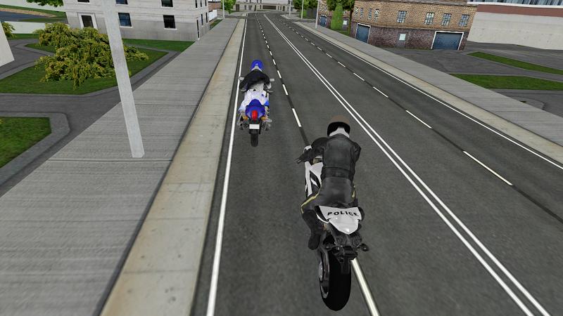 Скриншот Motorbike Driving Simulator