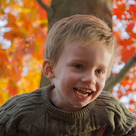 Up in the air by Paula NoGuerra - Babies & Children Children Candids ( child portraits, childhood, autumn colors, children candids, autumn, portrait, children photography, child )