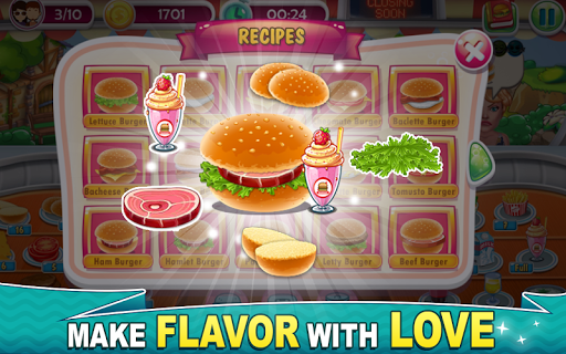 Chef Dash: Fast Food Truck Burger Maker Game  for PC