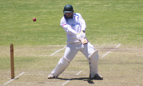 Narrabri District Cricket Association first XI captain Lachlan Cameron scored a match-high 60 in his side's one-wicket win against Inverell at Collins Park on Sunday in round two of the 2018-19 War Vets Cup campaign.
