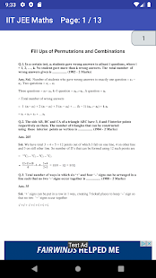 Download IIT JEE MAIN ADVANCED MATHS CHAPTER WISE PAPERS For PC Windows and Mac apk screenshot 8