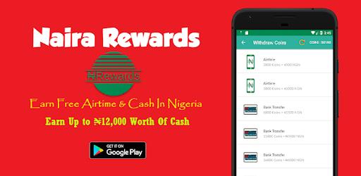 Naira Rewards - Programu zilizo kwenye Google Play