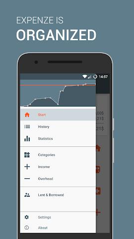 android Expenze - Ausgaben Manager Screenshot 2