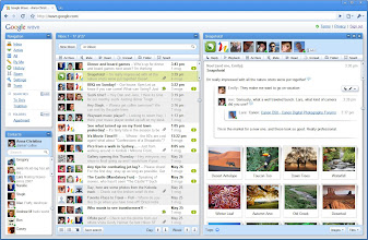 Photo: Pantallazo Google wave: acabo de analizarlo; las empresas que decidan cambiar su hábito de trabajo (estilo) y se adapten a él ganarán ++