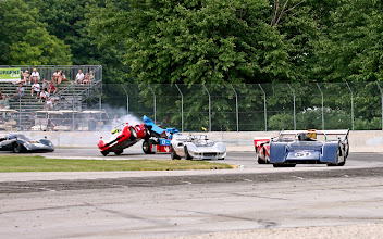 Photo: Can-Am Qualifying Race Start - Road America HAWK with Brian Redman. Historic Can-Am presented by Victory Lane.