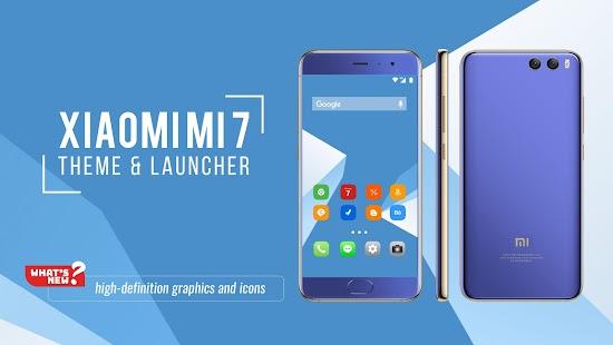 Theme for Xiaomi Mi 7 - náhled
