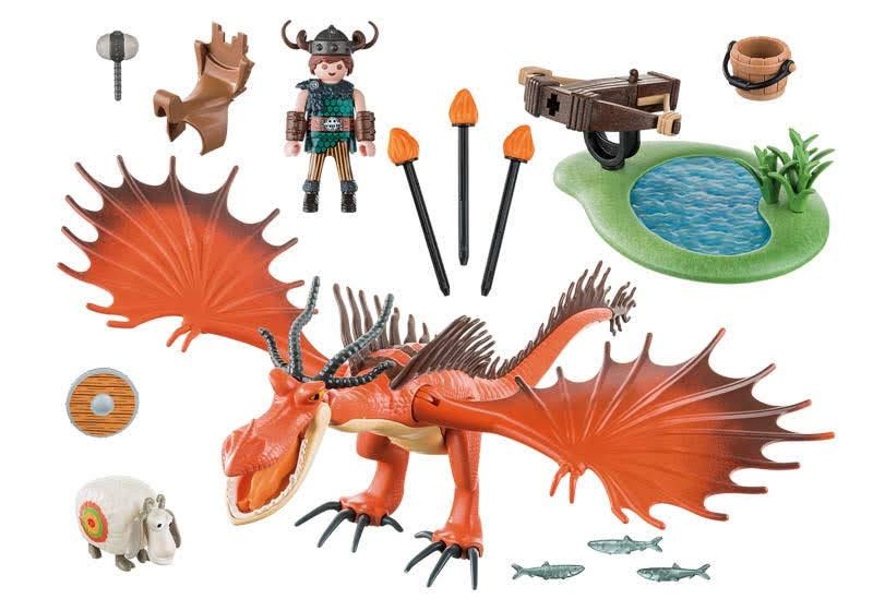 Contenido Real de Playmobil® 9459 Garfios y Patán Mocoso