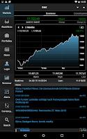 Screenshot of StockMarkets