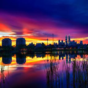 Sunday Evening part II by Danial Abdullah - City,  Street & Park  Vistas