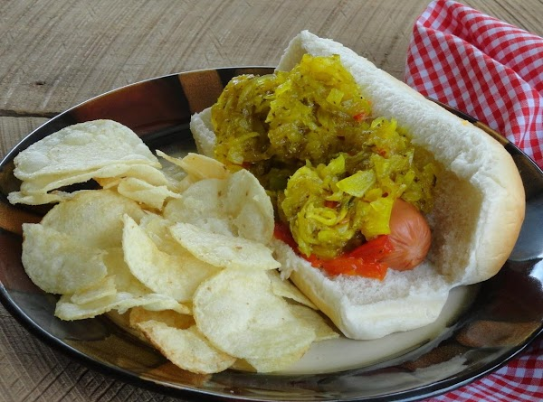 Lynda's Favorite Zucchini Hot Dog Relish Recipe