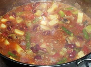 Ground Turkey Chili Stew