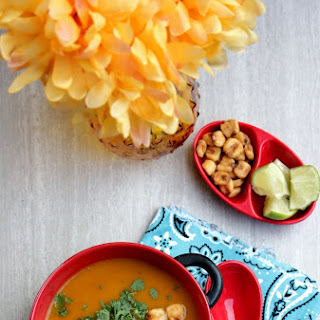 Roasted Butternut Squash Soup – Mexican Flavored Butternut Squash Soup.
