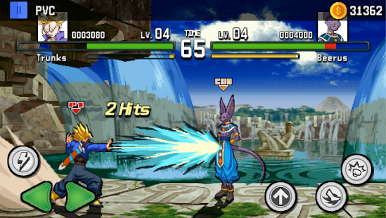 Saiyan Tournament: God Warriors Dragon Z Screenshot