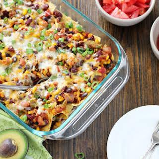 Vegetarian Tortilla Chip Casseroles Recipes.